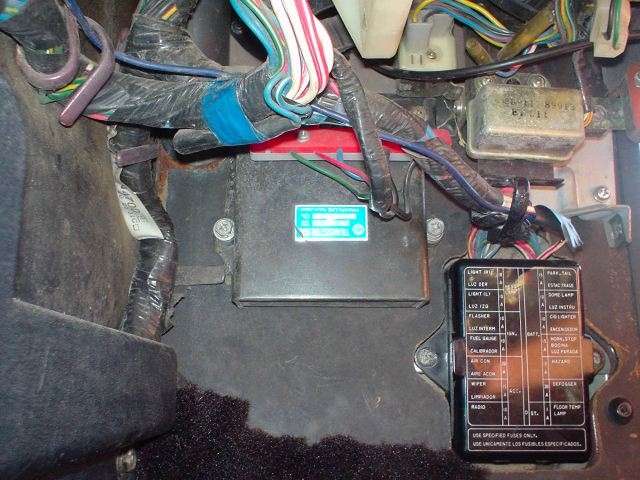 280zx fuse box 1977 280z ecu location  help me    the classic zcar club  1977 280z ecu location  help me    the classic zcar club